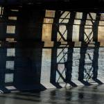 """Shadows on Mohawk River Bridge"" by bittersweetcottage"