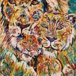 """Lion Family III"" by paullawrencecurtis"