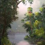 """Misty River View"" by mazz"