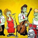 """Exquisite Zombies"" by milliondollartodd"