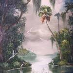 """Florida Misty River"" by mazz"