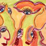 """Eyes"" by OutsiderArtist"