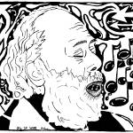 """Maze of Rav Shlomo Carlebach"" by mazes"