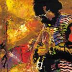 """Jazz Miles Davis"" by shevchukart"
