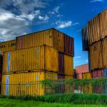 """Container Yard"" by NjordPhotography"