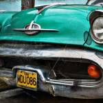"""Vintage Cuban Classic Car Brute"" by salvi08"