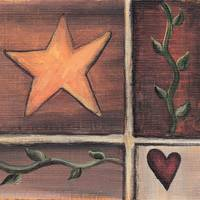 Primitive Heart & Star