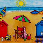 """Beach Colors I"" by LisaLorenz"