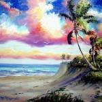 """""""Tropical Beach Rio Mar"""" by mazz"""