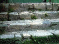 Fieldstone Stairs, New England