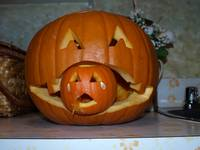 Poor little pumpkinHALLOWEEN)