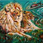 """""""Lions of Lemuria"""" by paullawrencecurtis"""