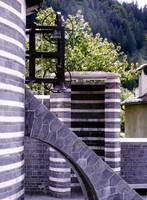Mogno Church at the end of Val Lavizza, Ticino