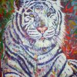 """White Tiger Bliss"" by paullawrencecurtis"