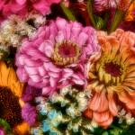 """Floral Color Blast"" by DigiPix"