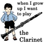 """Clarinet Boy"" by maryostudio"