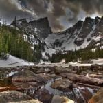 """""""Hallett Peak - Dream Lake"""" by istimuli"""