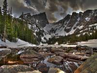 Hallett Peak - Dream Lake