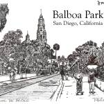 """Balboa Park, San Diego California by Riccoboni"" by BeaconArtWorksCorporation"