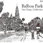 """Balboa Park, San Diego California by Riccoboni"" by RDRiccoboni"