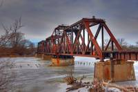 Saginaw Train Bridge