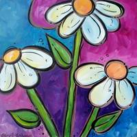 Whimsical Daisies Flower