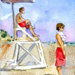 """Lifeguards"" by schulmanart"