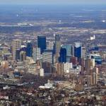 """Downtown Minneapolis Skyline, 28 March 2008"" by photographybyROEVER"