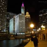 """In Chicago at Night, 27 Oct 2008"" by photographybyROEVER"