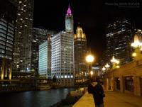 In Chicago at Night, 27 Oct 2008