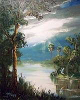 Florida River Painting