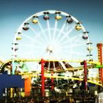 """""""Santa Monica ferris Wheel"""" by skipjensen1"""