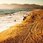 """Santa Monica beach"" by skipjensen1"