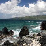 """Waves off Sandy Cay - BVI"" by DaveMaguire"