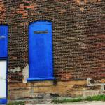 """3 Blue Windows"" by heathermuro"