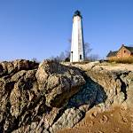 """Five Mile Point Light in Connecticut"" by New-Yorkled"