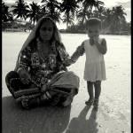 """Tribal lady n her kid"" by robinngeorge"