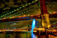 Brooklyn Bridge Waterfall