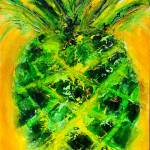 """Pineapple in Green"" by lisapyoung"
