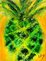 Pineapple in Green