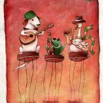 """The Three Musicians"" by Lucialtrove"