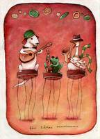The Three Musicians