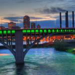 """Minneapolis Skyline"" by SolLeonard"
