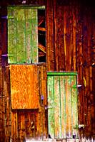 Colorful Barnwood