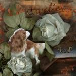 """""""Vintage Cavalier"""" by lindacarroll"""