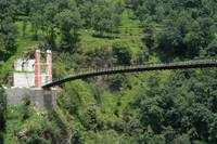 Suspension Bridge Azad Kashmir 006