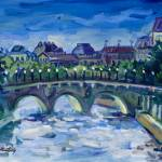 """Keating PARIS FRANCE LANDSCAPE Fine Art Print"" by KeatingArt"