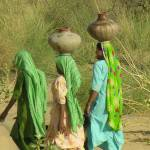 """Women Carrying Water  tharDSCN25234"" by davies"
