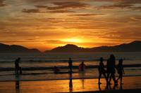 Sunset, Guaruja style (zero PS)