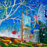 """Faery Artist"" by mozache"